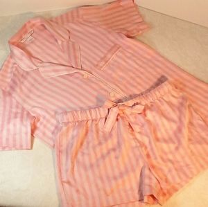 Victoria's Secret Iconic Satin Stripe 2-piece PJs
